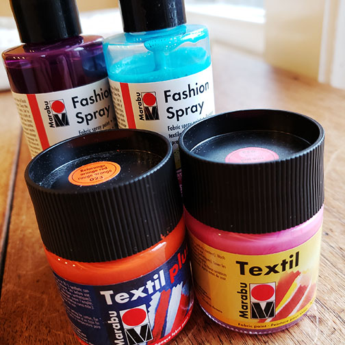 Marabu Textil and Marabu Fashion Spray